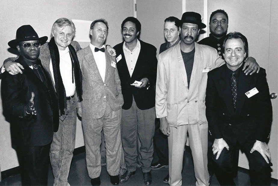 BMI Awards: Otis Blackwell, Chip Taylor, Larry Russell_Brown, Reggie Lucas, Allan Gordon, Keith Diamond, Lemel Humes, Bobby Weinstein