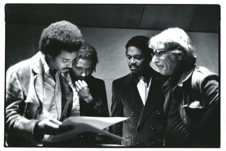 With Mtume, Wade Marcus, Jerry Schoenbaum