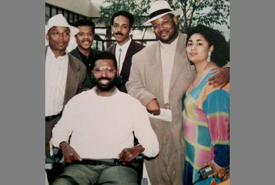 BMA Conference 1992 with:Teddy Pendergrass, Jimmy Jam, Terry Lewis, Dyana Williams