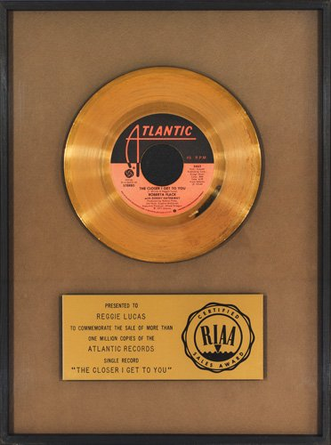 Roberta Flack - Donny Hathaway - The Closer I Get To You - Gold Single Award